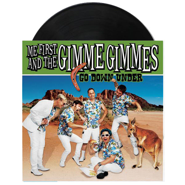Me First and The Gimme Gimmes - Go Down Under - 2 x 7""