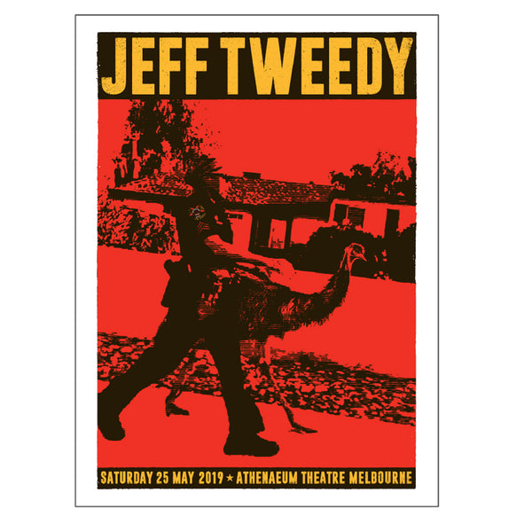 Jeff Tweedy - Emu 2019 Tour Poster (A2)