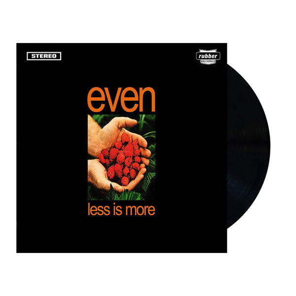 "Even - Less Is More Vinyl (Black) + Bonus 7"" Pic Disc 'Don't Wait'"