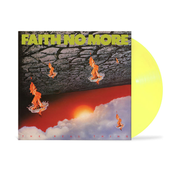 Faith No More - The Real Thing LP (Yellow)
