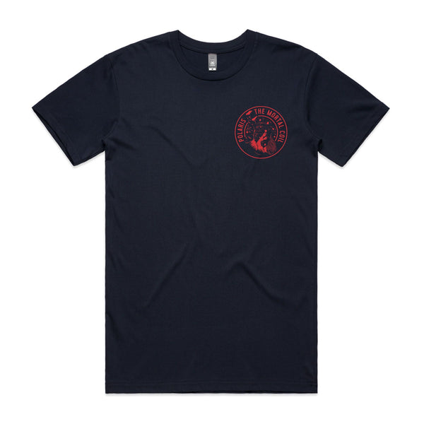 Polaris - Falling Man Circle T-shirt (front)