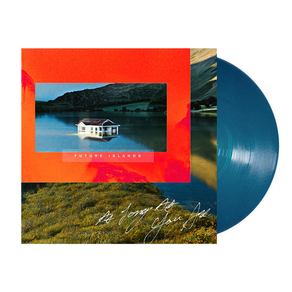 Future Islands - As Long As You Are LP (Petrol Blue)