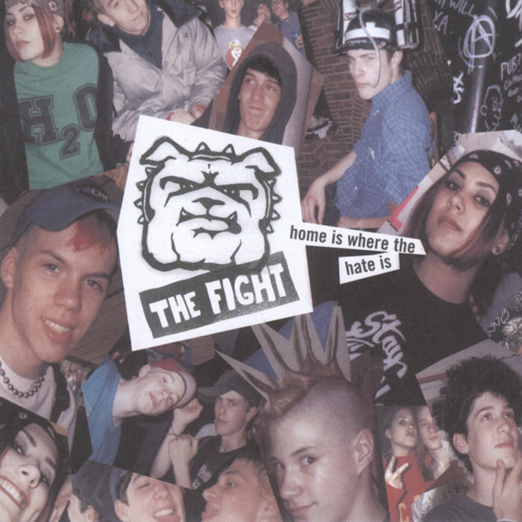 The Fight - Home Is Where The Hate Is CD