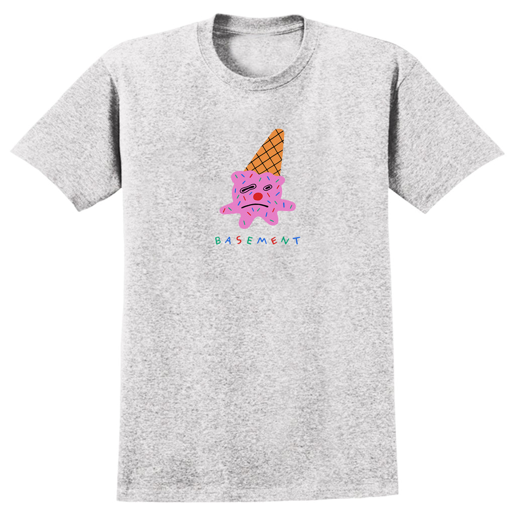 Basement - Sad Ice Cream Tee (Grey)
