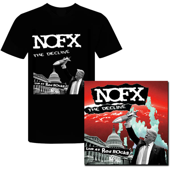 NOFX - The Decline Live At Red Rocks LP (Colour)  + T-shirt (Black)