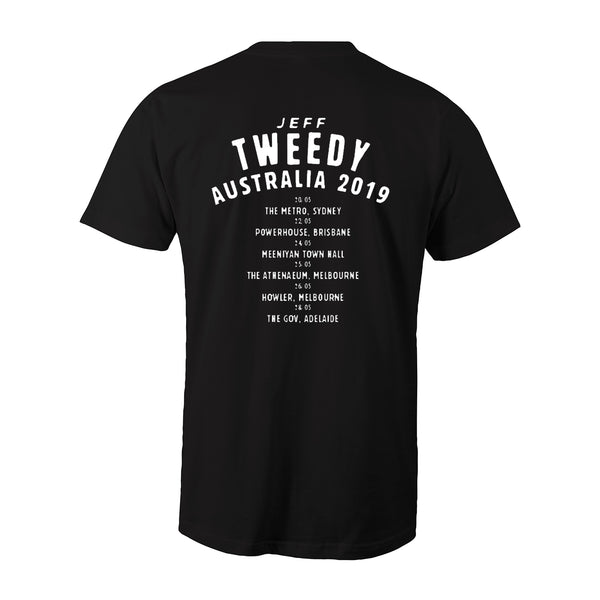 Jeff Tweedy - 2019 Tour T-Shirt (Black)