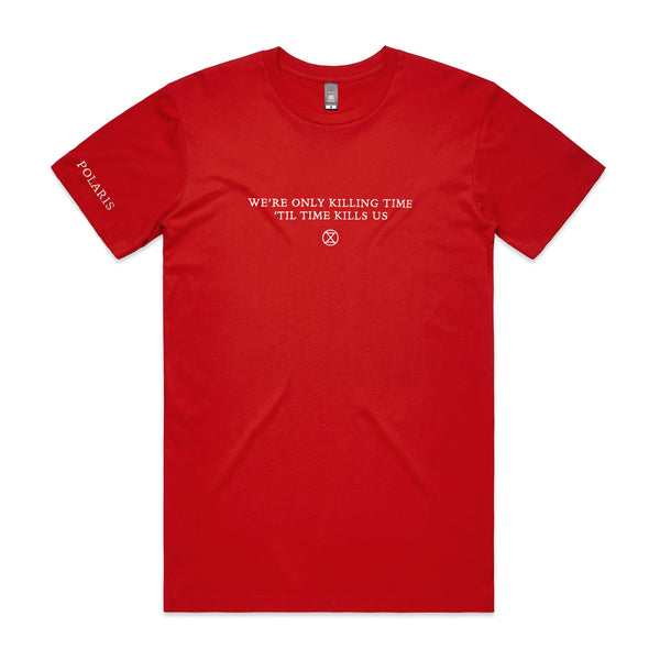 Polaris - Killing Time Tee (Red)