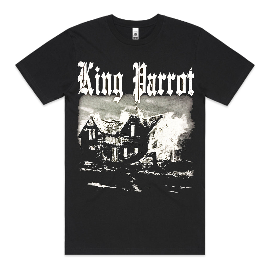 King Parrot - Blaze In The Northern Suburbs T-shirt (Black)