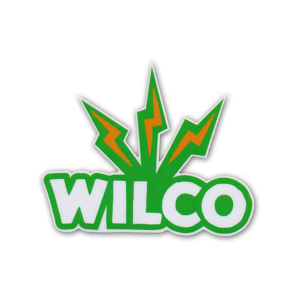 Wilco - Lightning Logo Sticker