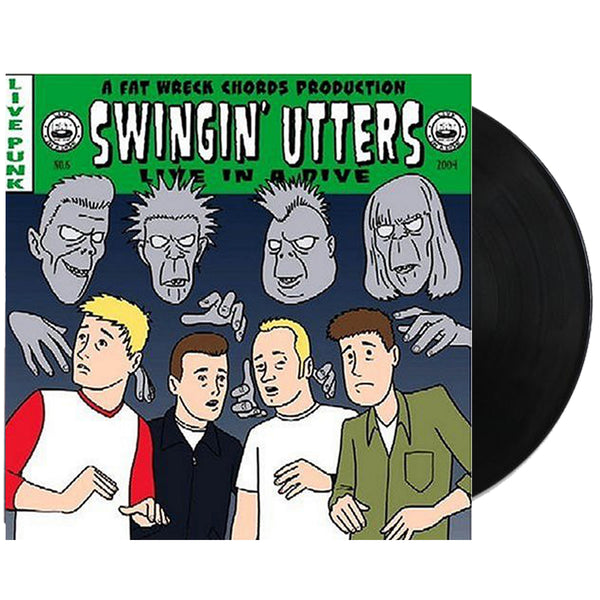Swingin' Utters - Live In A Dive LP