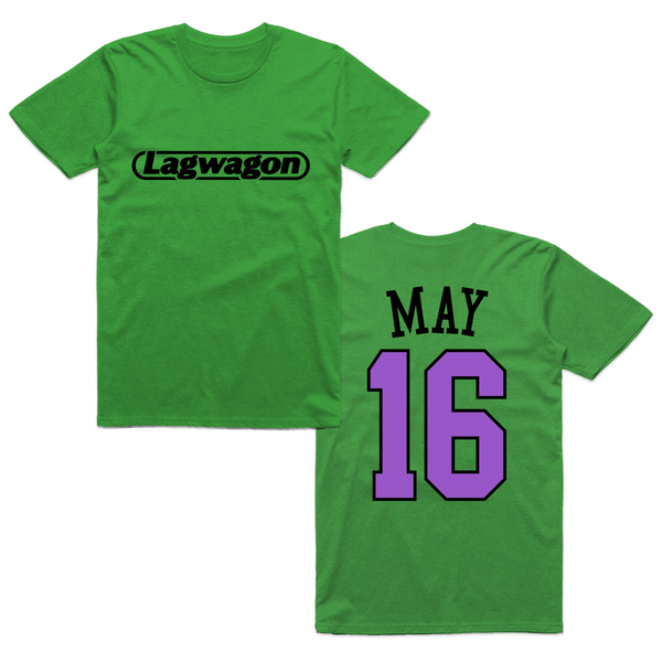 Lagwagon - May 16 Tee (Green)