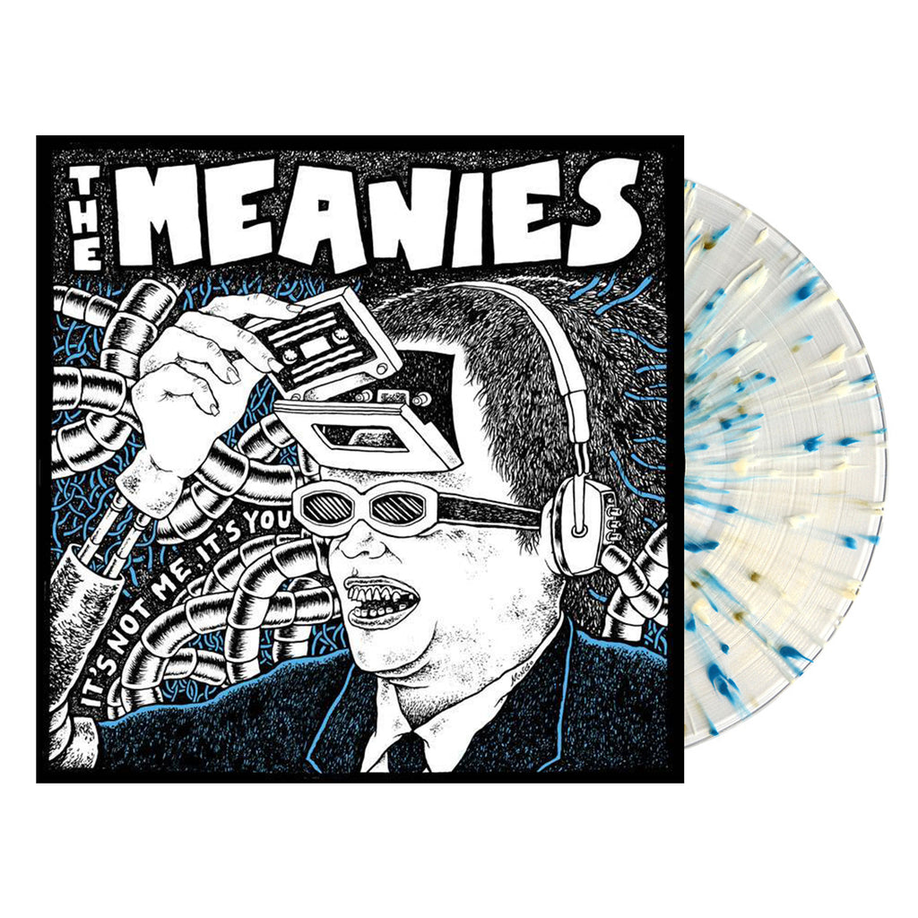 The Meanies - It's Not Me, It's You LP (Clear with Blue/White Splatter)