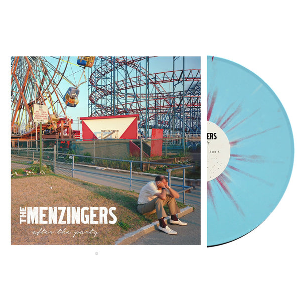 The Menzingers - After The Party LP (Blue w/ Red/White Splatter)