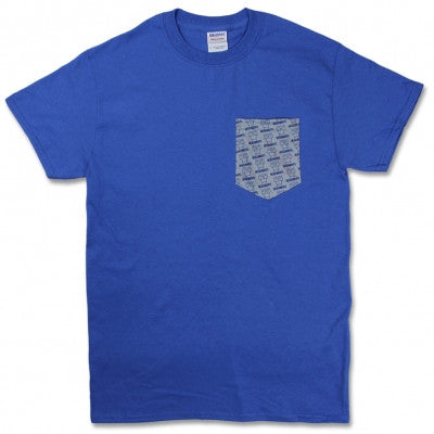 Descendents Milo Pattern Pocket Tee Blue