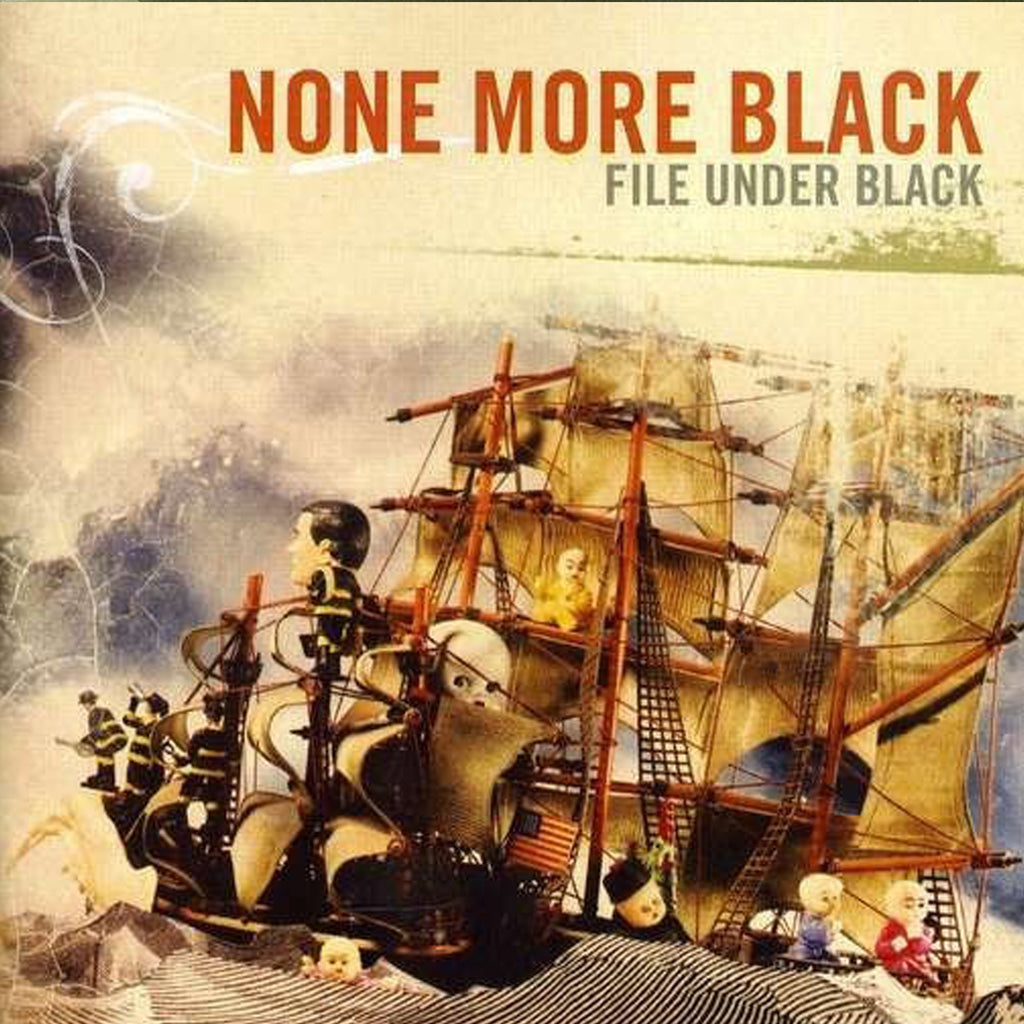 None More Black - File Under Black CD