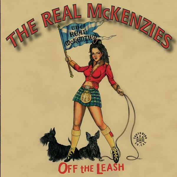 The Real McKenzies - Off The Leash CD