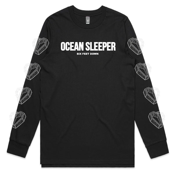 Ocean Sleeper - Coffin Longsleeve (Black)