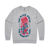 Polaris - The Slow Decay Crewneck (Heather Grey)