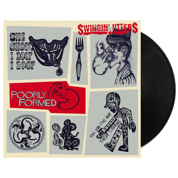 Swingin' Utters - Poorly Formed LP