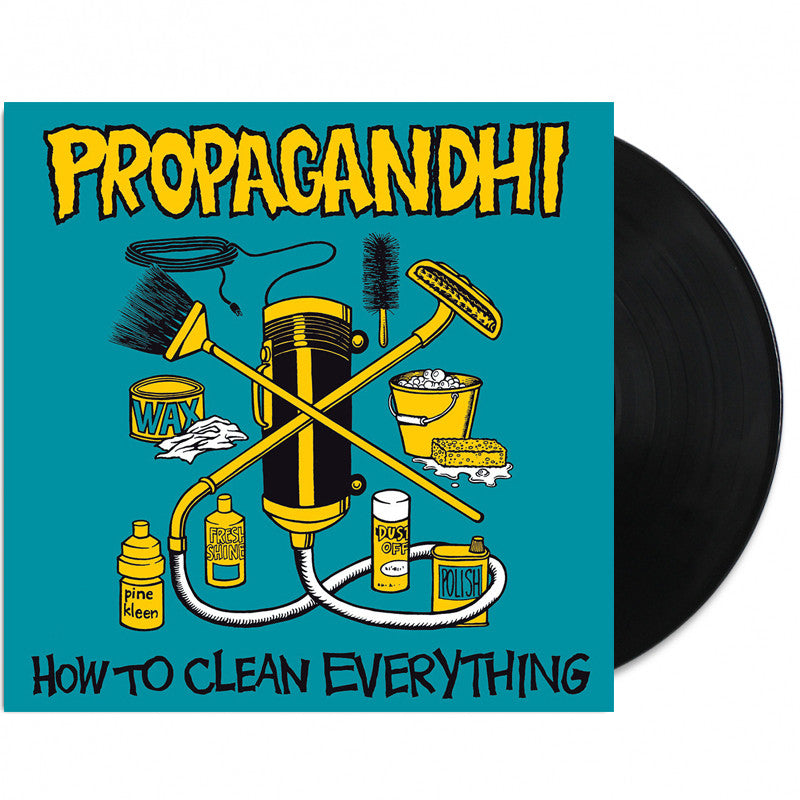 Propagandhi - How To Clean Everything LP 20th Anniv Ed