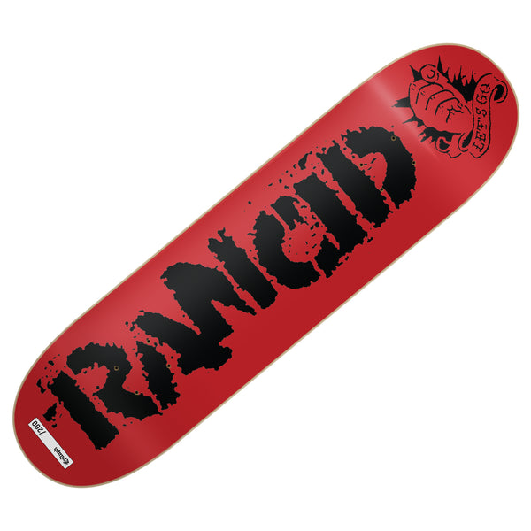 Rancid - Let's Go Skate Deck (Limited Edition)