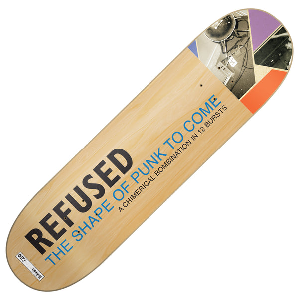 Refused - Shape Of Punk To Come Skate Deck (Limited Edition)
