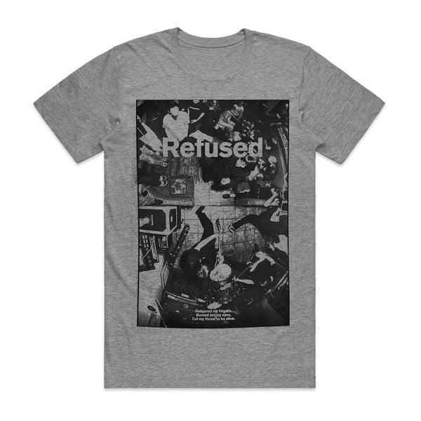 Refused - Live Photo T-shirt (Grey)