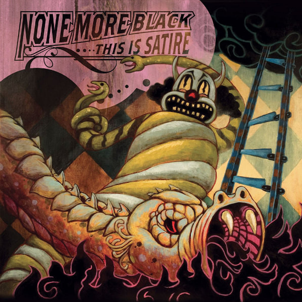 None More Black - This Is Satire CD