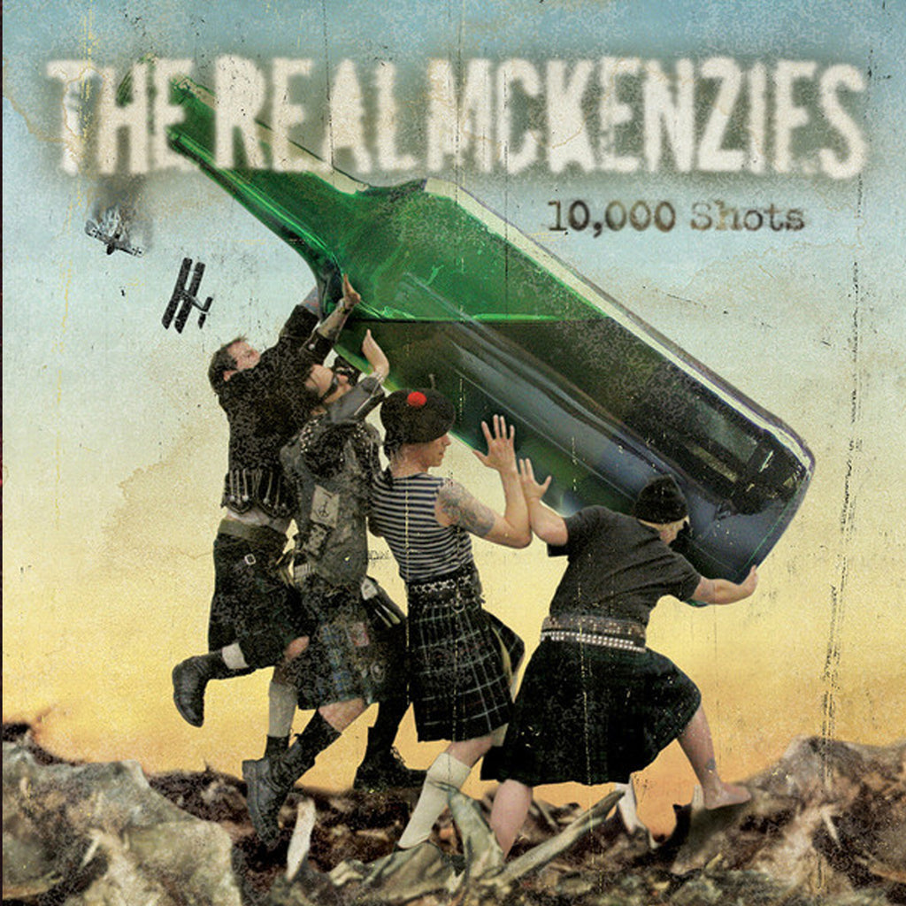 The Real McKenzies - 10,000 Shots CD