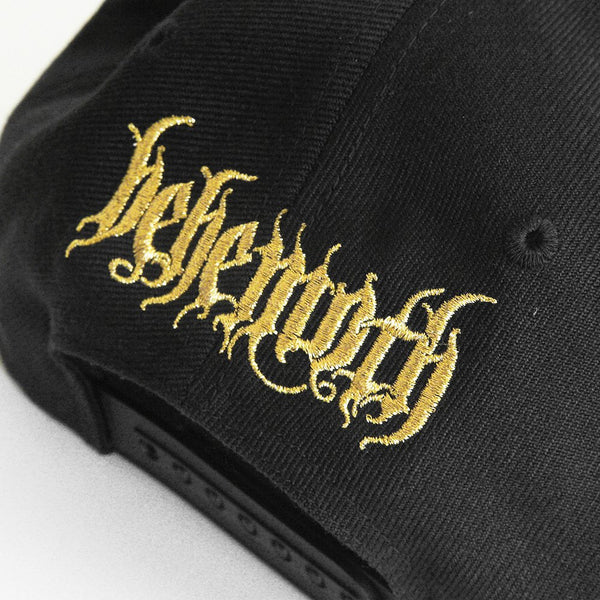 Behemoth - Sigil black Snap Back Hat (back)