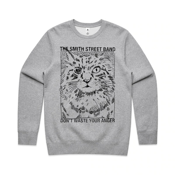 The Smith Street Band - Sinclaire Crewneck (Grey Marle)