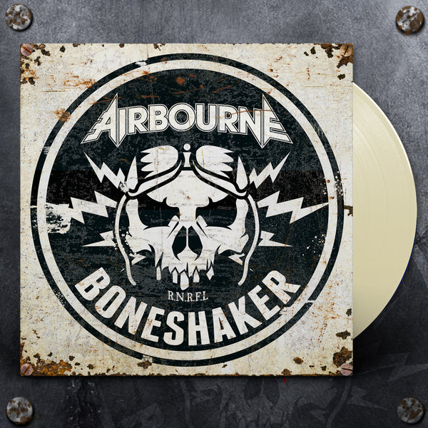 Airbourne - Boneshaker LP (Cream) + Stubby