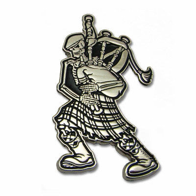 Dropkick Murphys Skelly Piper Enamel Pin