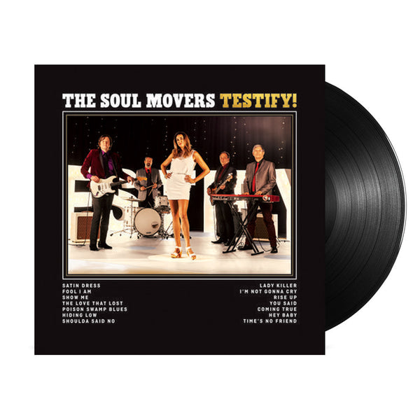 The Soul Movers - Testify LP