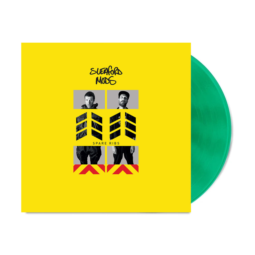 Sleaford Mods - Spare Ribs LP (Transparent Green)