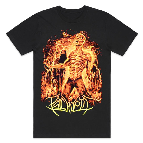 Psycroptic - Burning Man T-Shirt (Black)