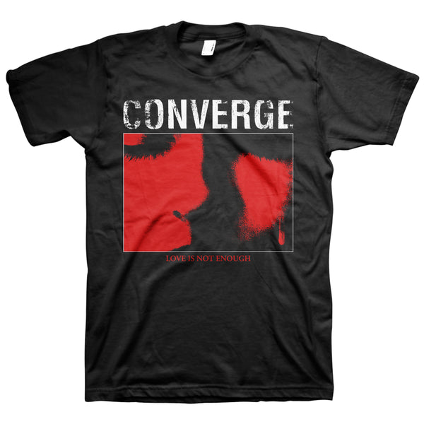 Converge - Love Is Not Enough Tshirt (Black)