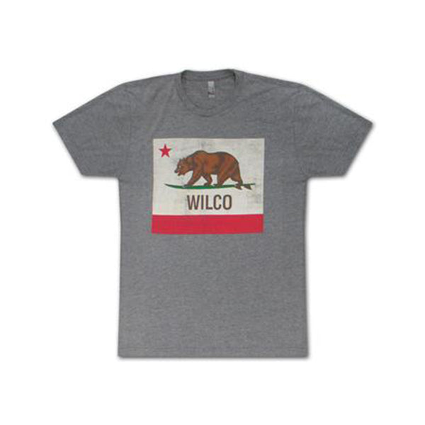 Wilco - Surfing Bear T-shirt (Grey)