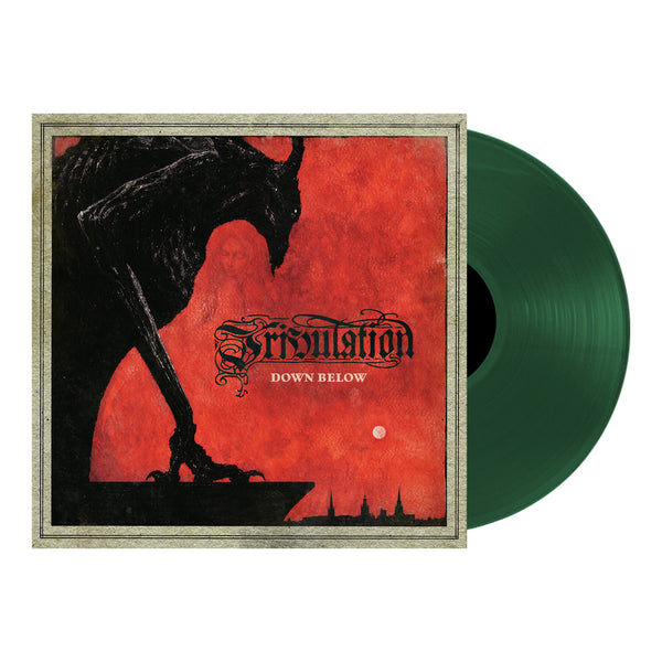 Tribulation - Down Below LP (Dark Green)