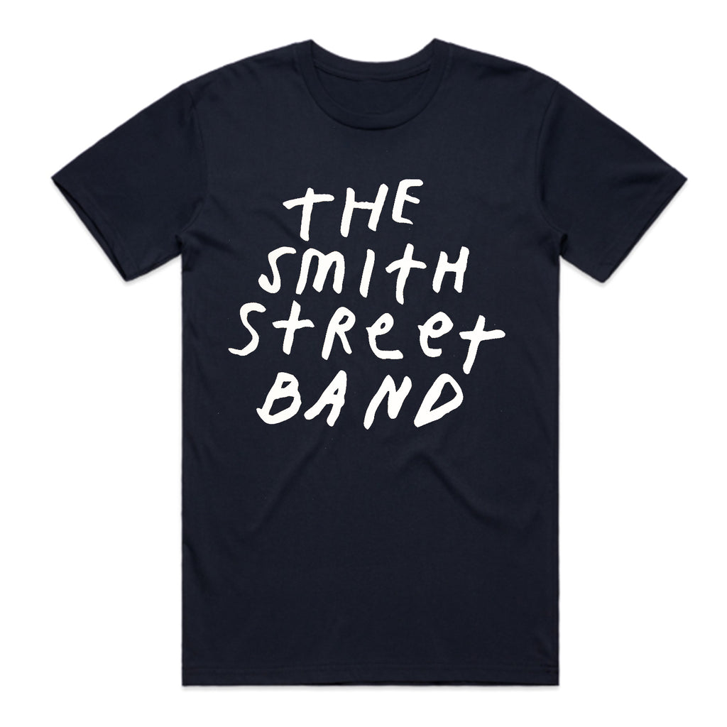 The Smith Street Band - New Logo Tee (Navy)