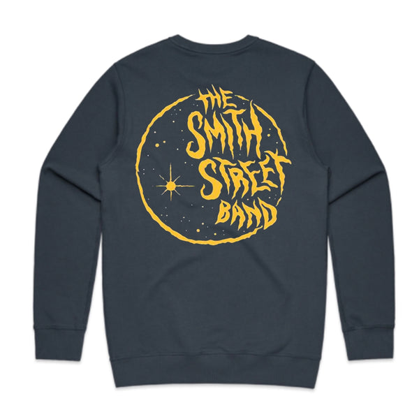 The Smith Street Band - Moon Crewneck (Petrol Blue)