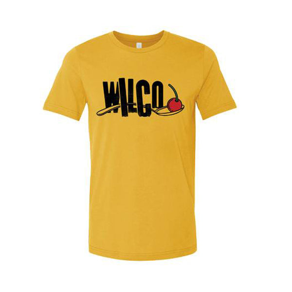 Wilco - Under the Cherry Spoon T-shirt (Gold)