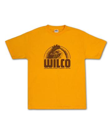 Wilco Golden Rooster T-shirt (Gold)