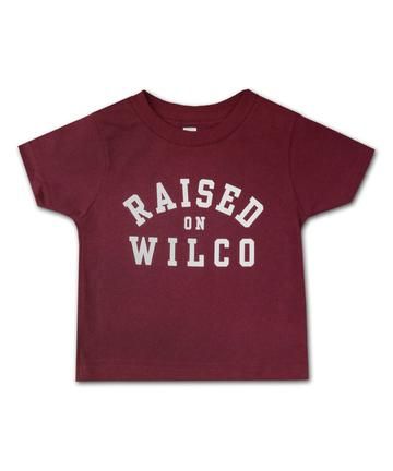 Wilco - Raised On Wilco Kids T-Shirt (Maroon)