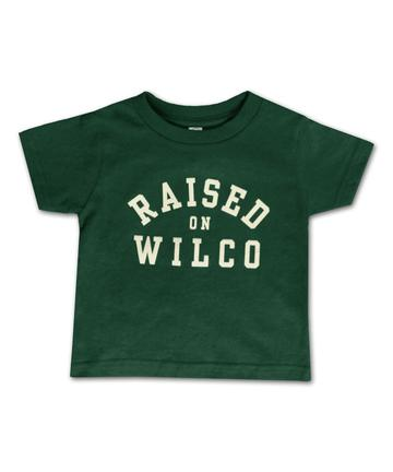 Wilco - Raised On Wilco Kids T-Shirt (Green)