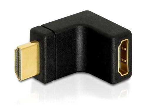 Delock Adapter HDMI male > HDMI female 90°angled upwards Port saver / Extender - Optiwire.ie