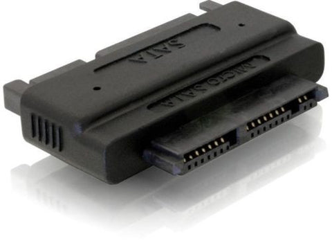 "Delock Adapter SATA 22p > Micro SATA 16pin connect 1.8""HDD directly to mainboard - Optiwire.ie"
