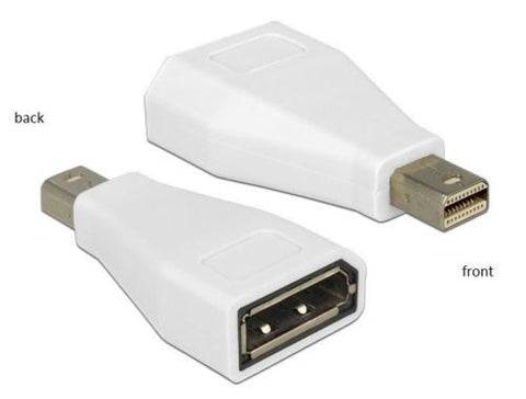 Delock Adapter mini Displayport 1.2 male > female connect Mac to a DP monitor/TV - Optiwire.ie
