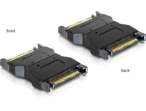Delock Adapter SATA Power 15 pin male / male Gender changer / Coupler Serial-ATA - Optiwire.ie