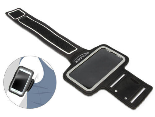 Delock Sport Armband for Smartphone black with reflector and adjustable tape - Optiwire - 1